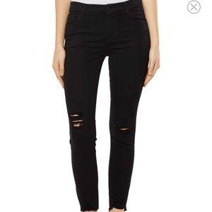 J BRAND Black Skinny Jean